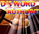 Authority in the Word of God